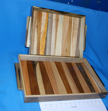 Multiwood Tray  -  Small =  $1283.00,  Large = $1890.00