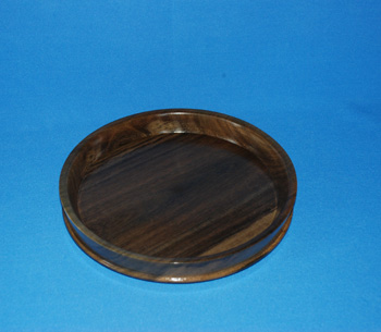 Round  Tray -  Mahoe >  10 inches =  $1828.00