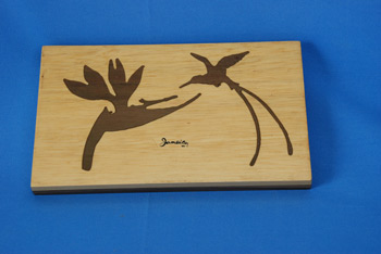 Wall Plaque - Bird/Heliconia $1039.00
