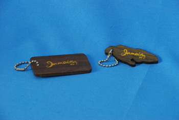 Key Chain - Jamaica Shape $162.00, Rectangle $135.00